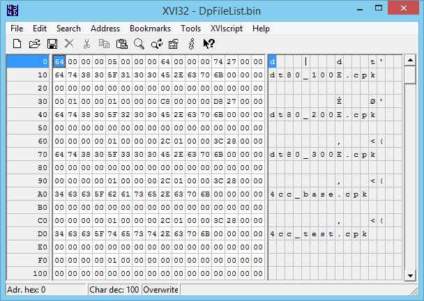 Pro Evolution Soccer 2016/Working with a hex editor - Rigged